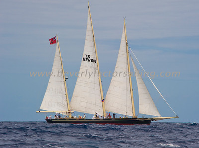 SPIRIT OF BERMUDA Under sail