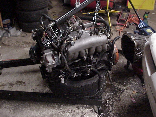 Now it's just an engine