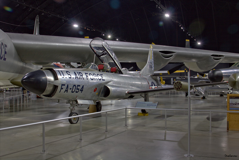 National Museum of the United States Air Force, Dayton, Ohio,   04/13/2019  Lockheed F-94A-5-LO Starfire, C/N: 780-7020   49-2498  This work is licensed under a Creative Commons Attribution- NonCommercial 4.0 International License.