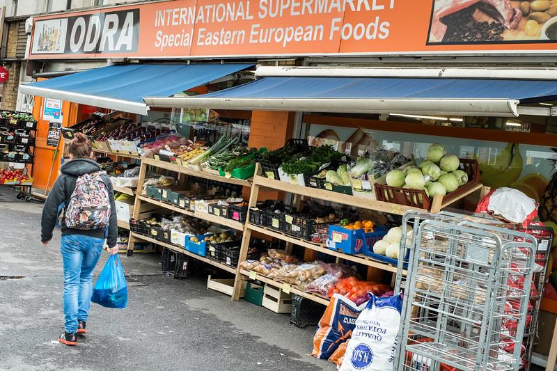 Grocery store selling Polish food, Southampton, United Kingdom