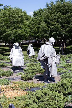 War Memorials, Washington DC - June 2007