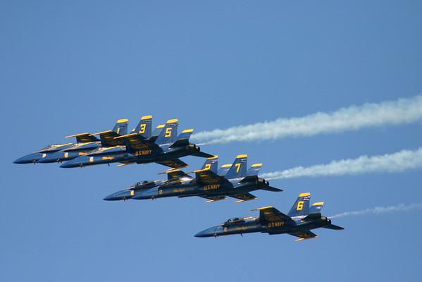 Blue Angels - Fleet Week 2010
