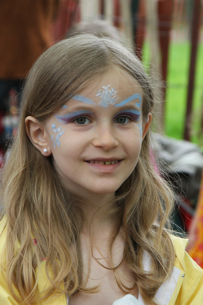 Magical face painting by our all volunteer parents (and some kids!)