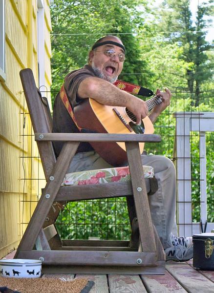On Betty's Porch - 2013<br><i>photo by Melanie</i>
