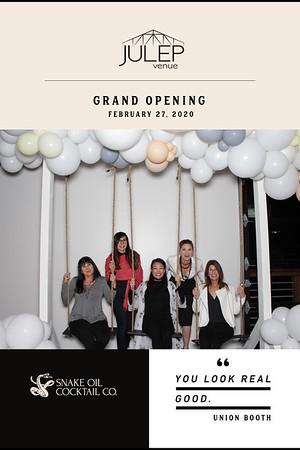 02.27.20 Julep Grand Opening
