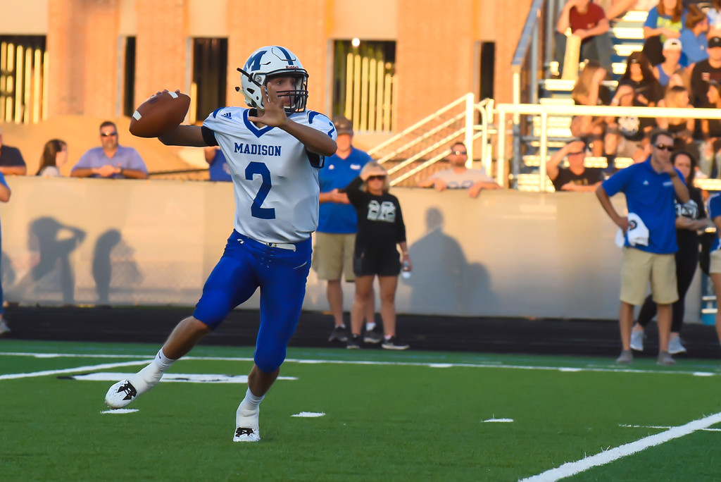 . Mike Payne - The News-Herald Willoughby South vs. Madison, Sept. 14.