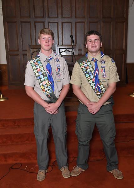 Ellis & Jackson Eagle Scout Court of Honor - 2018-06-10
