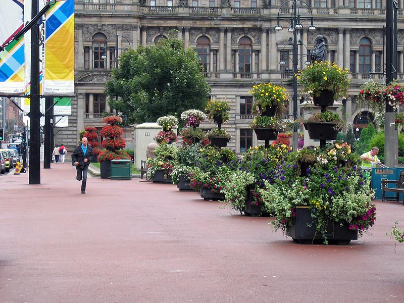 Sept. 30/07 - George Square, Glasgow.