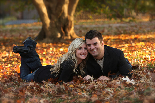 Brandon and Andrea's Engagement Pix