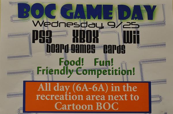 BOC Game Day 2013