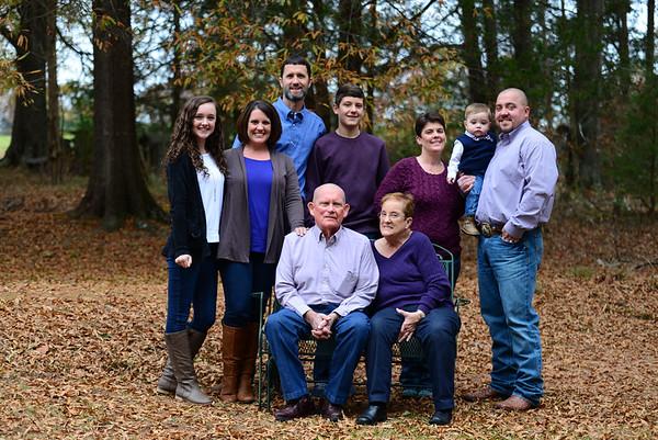jennifer Gilstrap and Family 2014