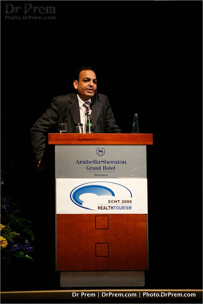 Dr Prem Jagyasi At Health Tourism Meet At Munich