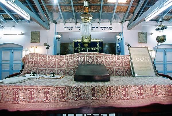 INDIA, Mumbai (Bombay). Kurla Bene-Israel Prayer Hall. (2009)