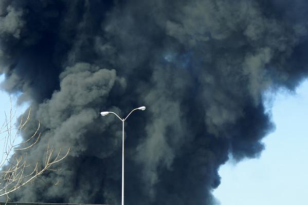 Savannah Rubber Warehouse Fire