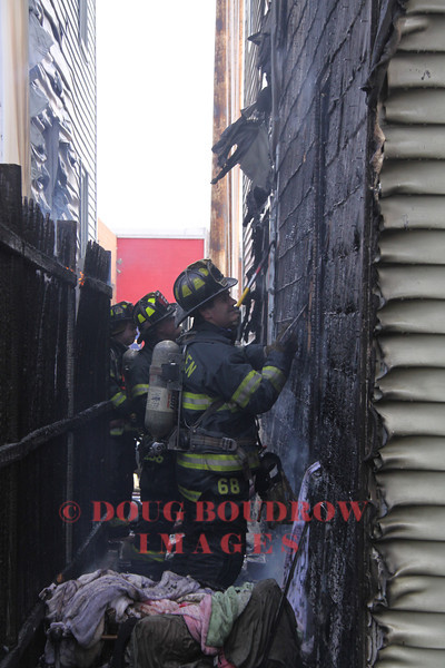 Malden, MA - Working Fire, 7 Railroad Ave, 4-7-13