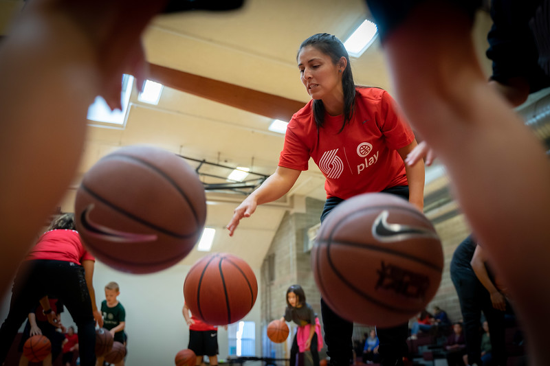 Portland Trail Blazers x Spirit Mountain Kids Clinic 2019