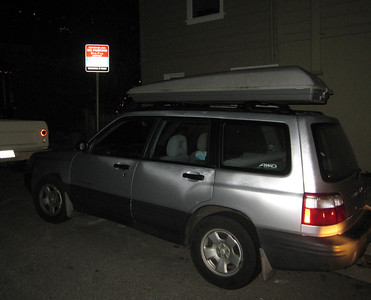 Sausalito Parking Signs