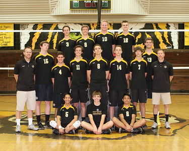 2014 Gilbert Boys Volleyball - Team and Individual Program  Pictures