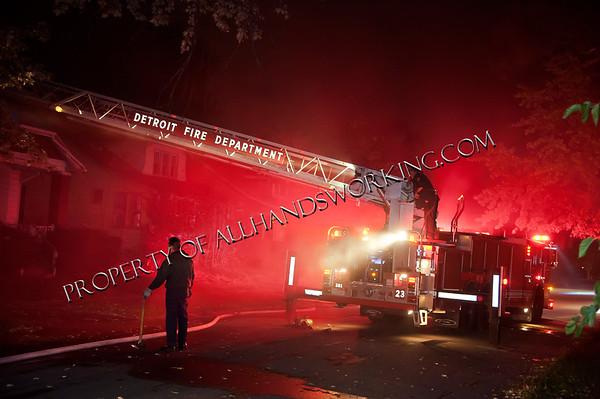 13137 Barlow Dwelling Fire