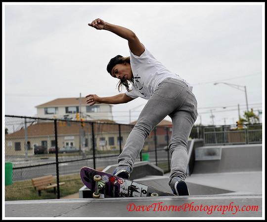 Skateboarding  August 2010