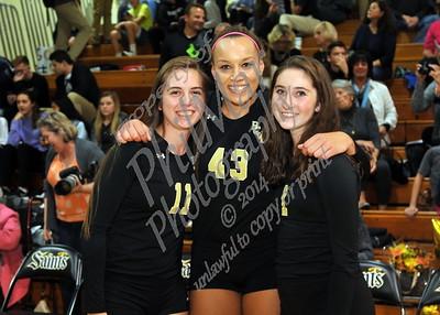 Berks Catholic vs Schuylkill Valley JV & Varsity Girls Volleyball Senior Night
