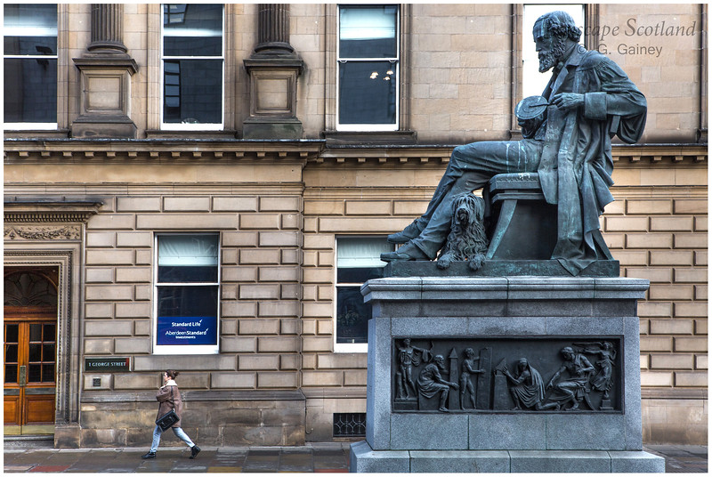 James Clerk Maxwell statue, George Street