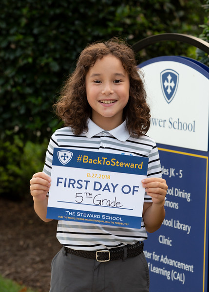 Lower School First Day of School