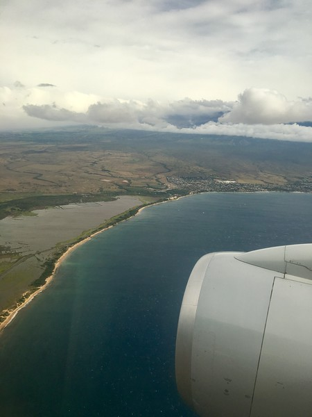 Arriving to Maui