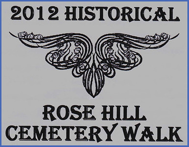 A production team consisting of writers Paul Higbee, Kaija Swisher, Jon Steven Wiley, and Linda Wiley penned some terrific scripts for the 2012 Historical Rose Hill Cemetery Walk.  Joe Saracco handled the wardrobe, and Jon Steven Wiley and Linda Wiley were coordinators for the event.  Of course, the many talented actors who portrayed historic Spearfish residents deserve much credit for doing a splendid job!  Below, you'll find images from both the 2012 and 2011 Cemetery Walks.  We're confident -- given the terrific attendance at these cemetery walks -- that this will become an annual event.  Kudos to all who had a hand in putting this production together!