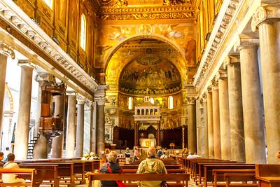 Rome - Basilica di Santa Maria 2017