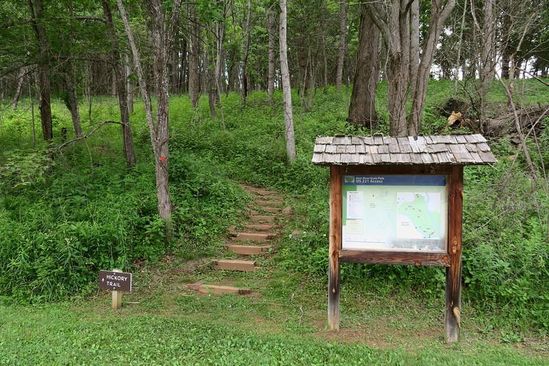 Hickory Trailhead