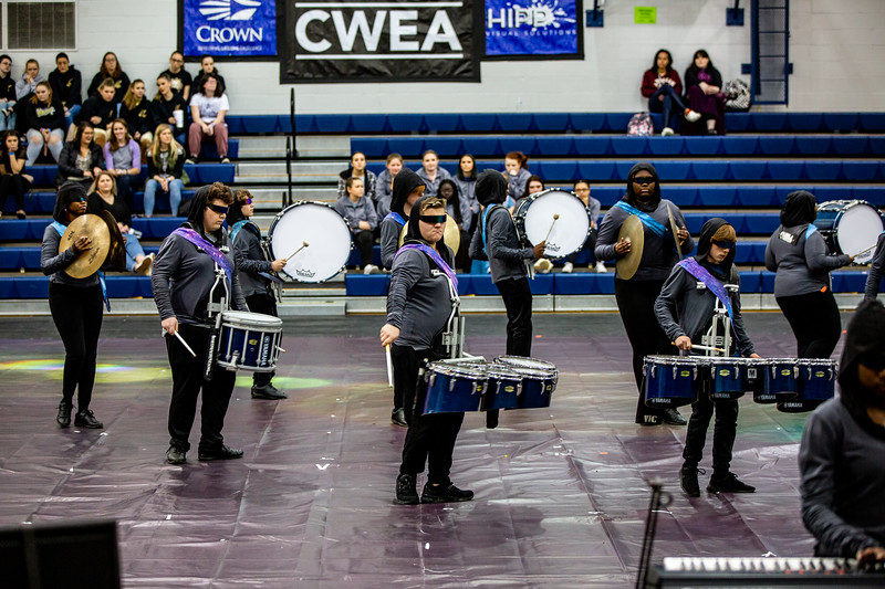 Scenes from CWEA Premiere South at Lexington High School. 02/15/2020 ~ [Photos by Hunter Cone / CWEA]