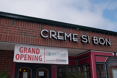 Creme Si Bon Ribbon Cutting