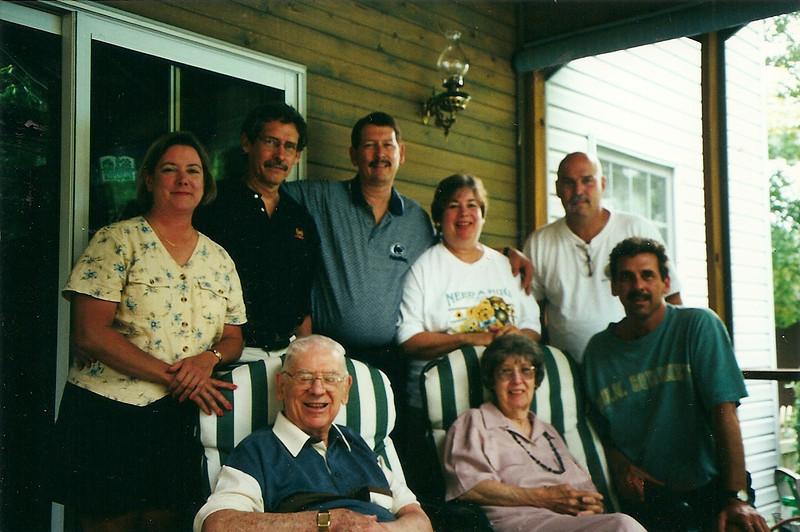 Mom & Dad Cerne & kids 7/2000