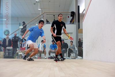 2011-02-25 Alex Nunez (Wesleyan) and Andrew Tan (Columbia)