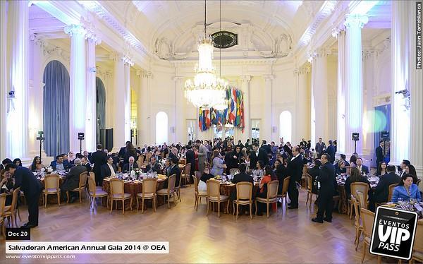 Salvadoran American Annual Gala 2014 @ OEA | Sat, Dec 20