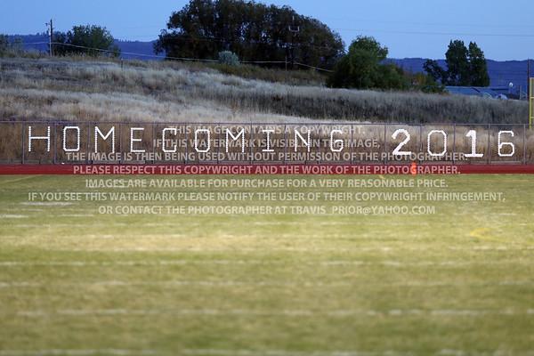 September 30, 2016 Bayfield High School Varsity vs Gunnison