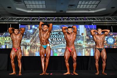 Men's Bodybuilding Teen LW & MW