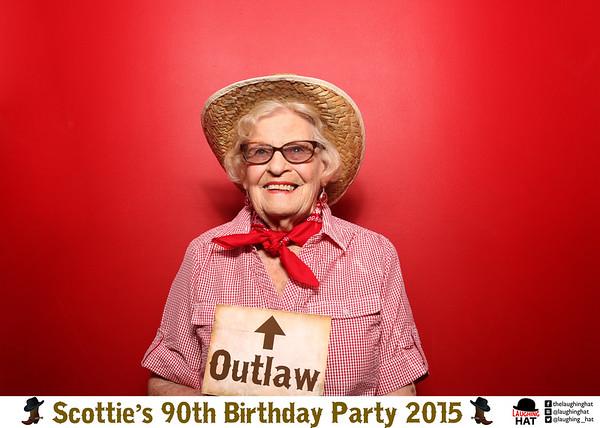 Scottie's 90th Birthday