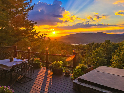 Laurel Ridge Sunsets - 9-16-16