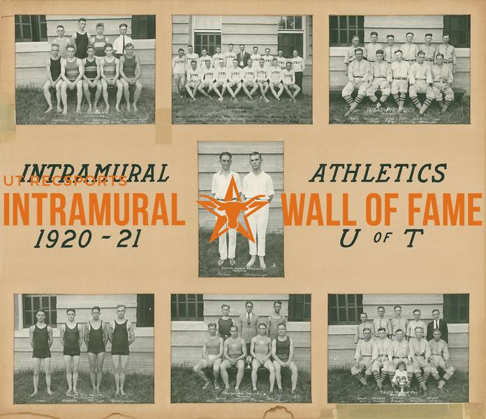 Intramural Champions 1920-21