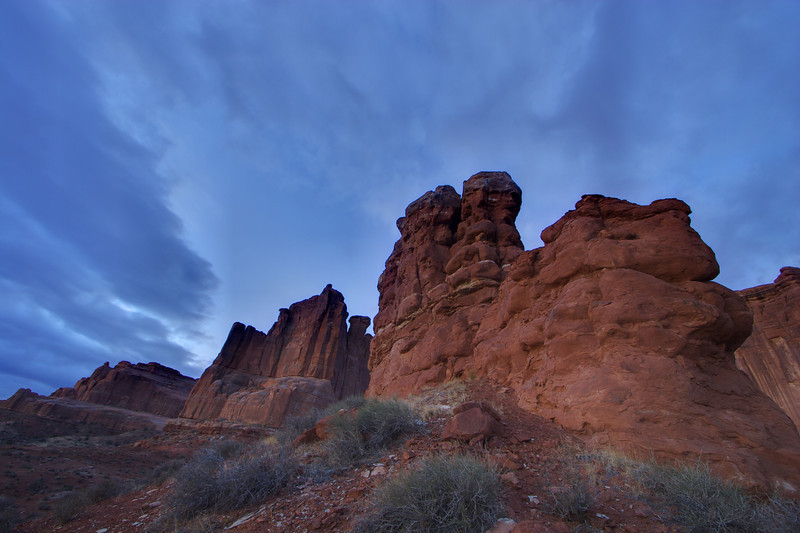 Park Avenue (Arches National Park, Moab UT)