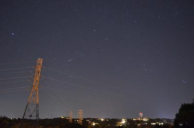 Stargazing at Mansfield Dam, TX