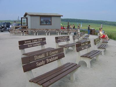 Flight 93 Temporary Memorials