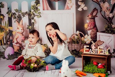Emma, Iris si Raluca - Sedinta de Paste