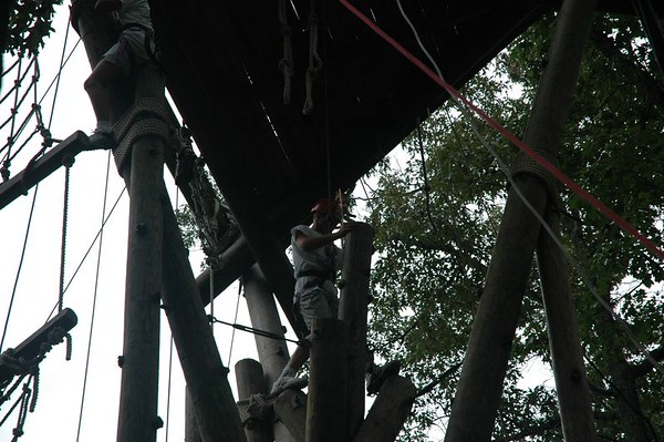 Middle School Officer Training-Ropes Course