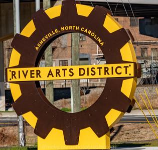 ART  DISTRICT ASHEVILLE , NC