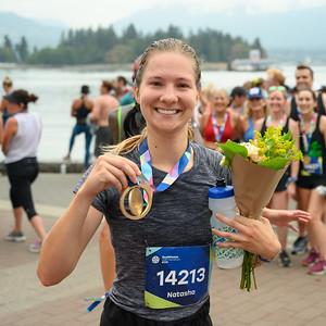 Seawheeze Half Marathon - Vancouver 2019