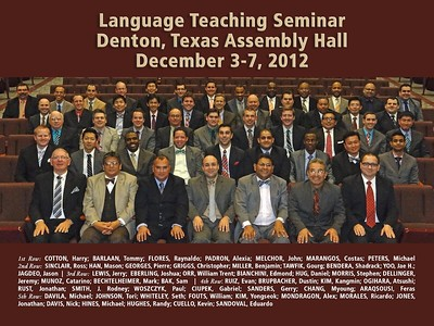 Foreign Language Seminar- Denton, TX