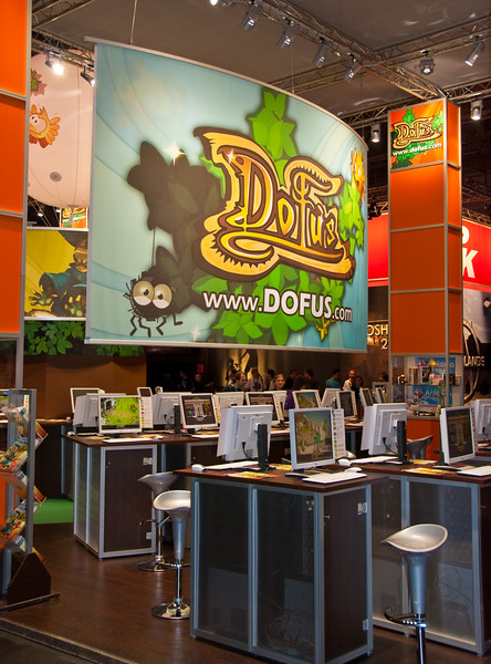 Dofus booth at GamesCom